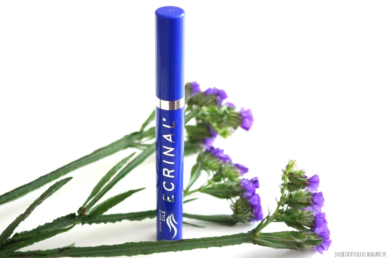 mascara fortifiant noir Ecrinal avis julieetsesfutilites.blogspot.fr