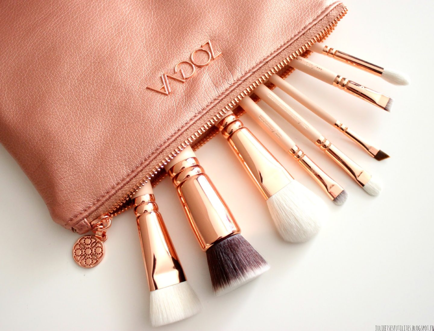 Rose Golden Vol.2 Luxury Set de Zoeva julieetsesfutilites.blogspot.fr
