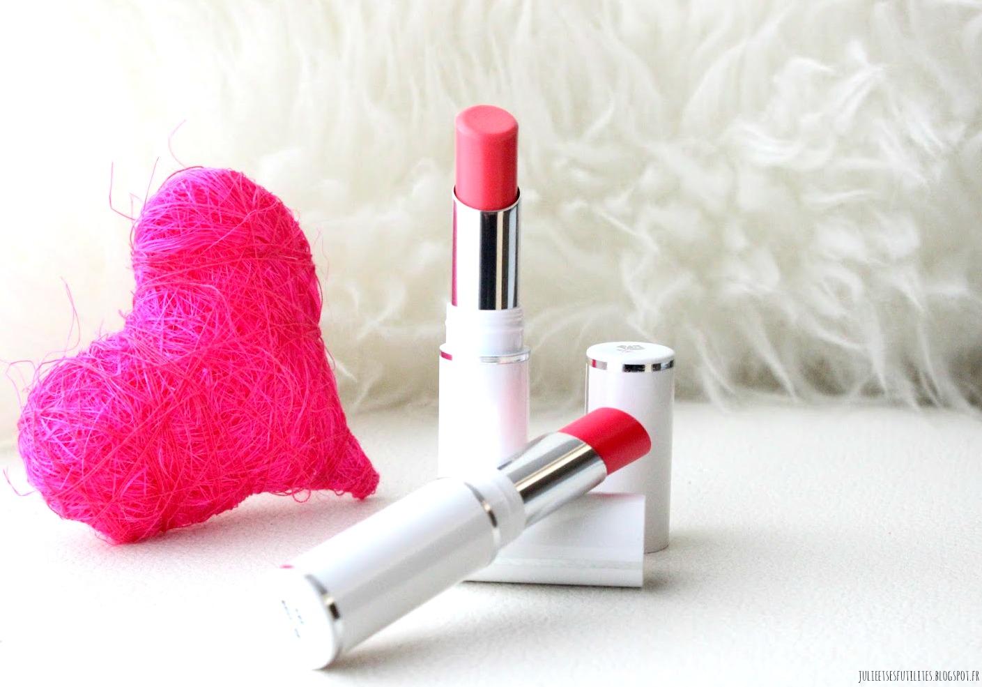 avis nouveauté 2015 rouge à lèvres Shine Lover Lancôme julieetsesfutilites.blogspot.fr