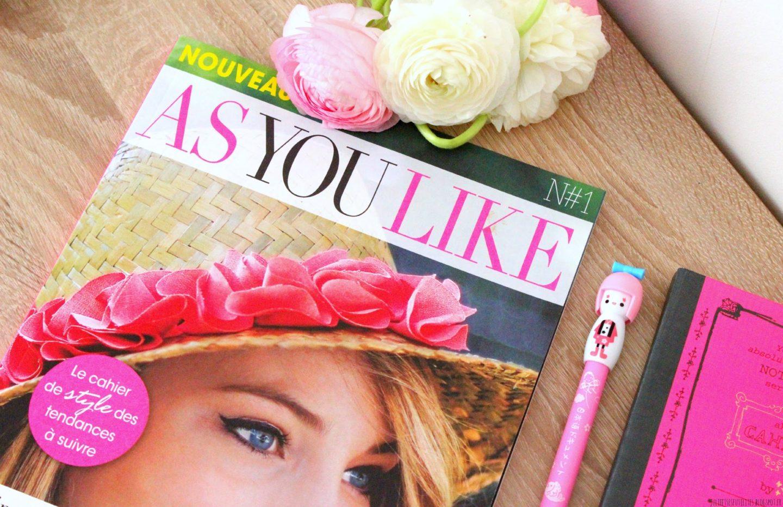 As You Like magazine Prisma Média julieetsesfutilites.blogspot.fr