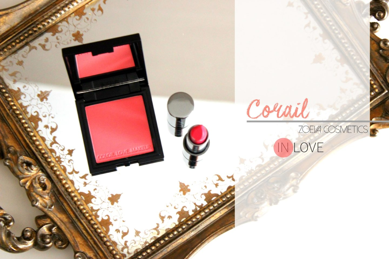Corail in Love avec Zoeva Cosmetics julieetsesfutilites.blogspot.fr