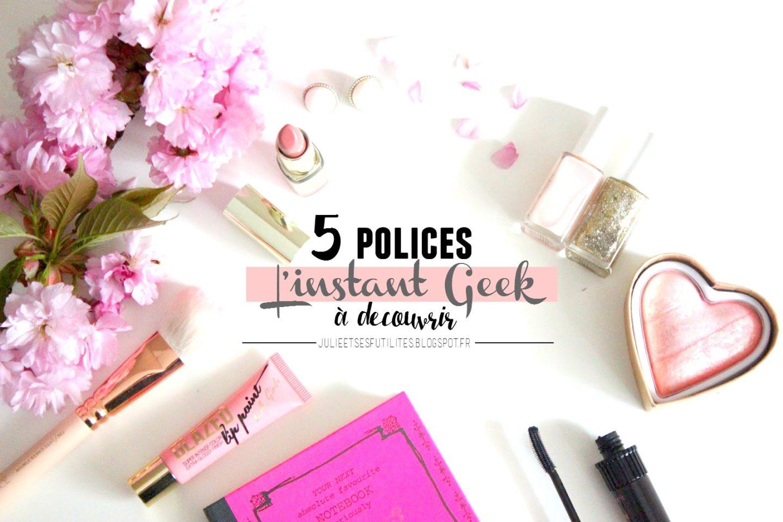 5 polices à télécharger pour améliorer son blog
