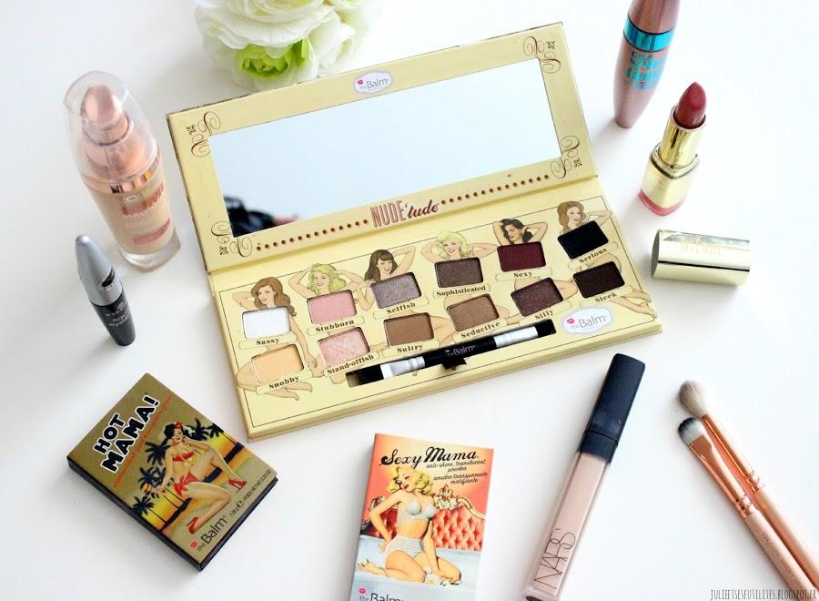 Avis et makeup: la palette Nude'tude de TheBalm