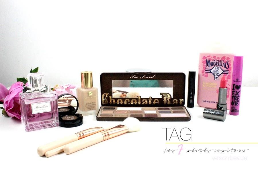 TAG | Les 7 pêchés capitaux de la beauté ! julieetsesfutilites.blogspot.fr