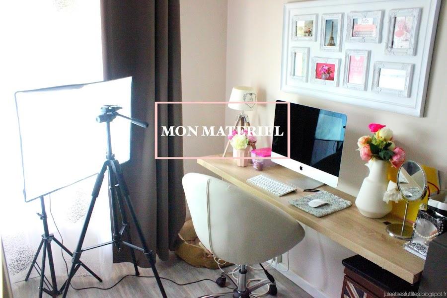 Vis ma vie de blogueuse #4 | Mes outils (logiciels, matériel photo...) pour bloguer ! julieetsesfutilites.blogspot.fr
