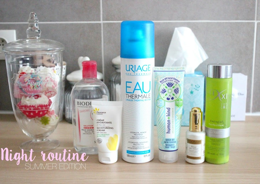 [VIDEO] Night routine | Summer Edition ! julieetsesfutilites.blogspot.fr