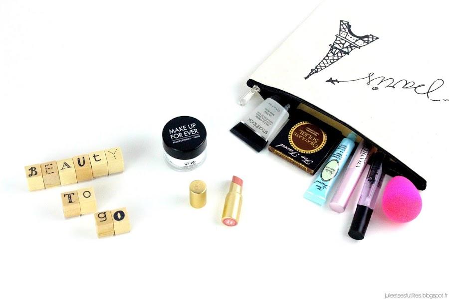 Beauty to go ! | Ma sélection de miniatures pour voyager léger ! julieetsesfutilites.blogspot.fr