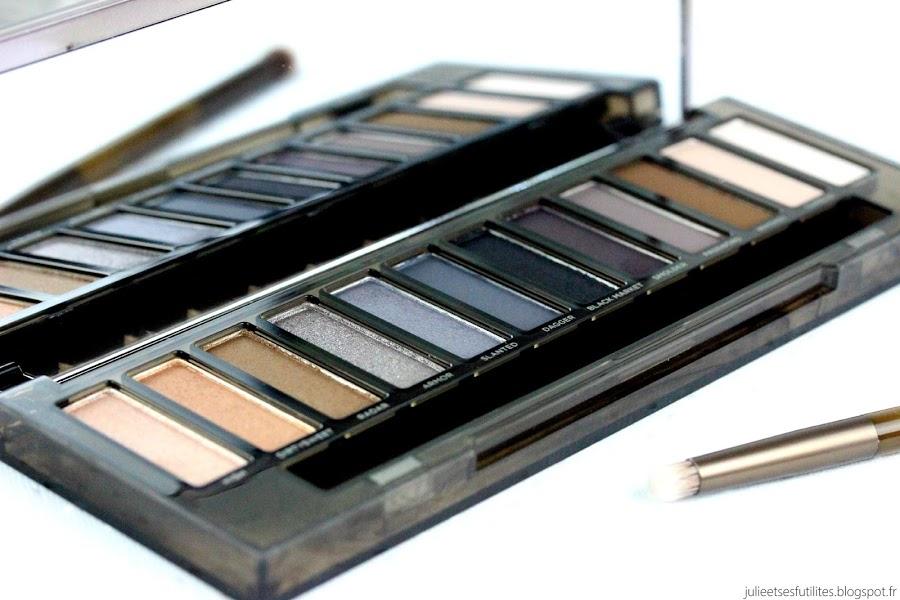 LE MAKEUP | Naked Smoky, la nouvelle palette d'Urban Decay ! julieetsesfutilites.blogspot.fr