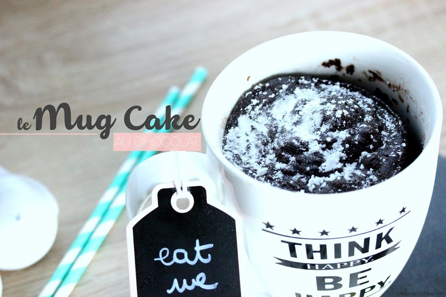 FOOD #12 | Le MugCake au chocolat intense ! julieetsesfutilites.com