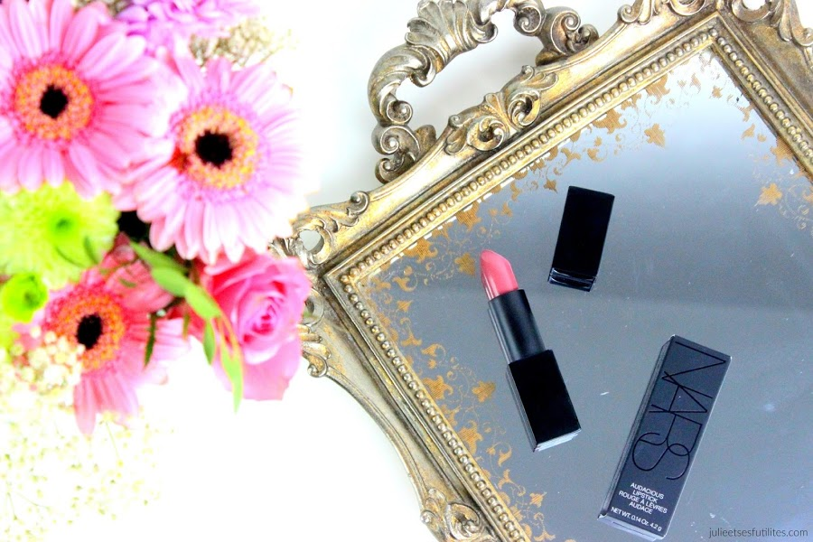 Rouge à lèvres Anna Audacious Lipstick Nars - julieetsesfutilites.com