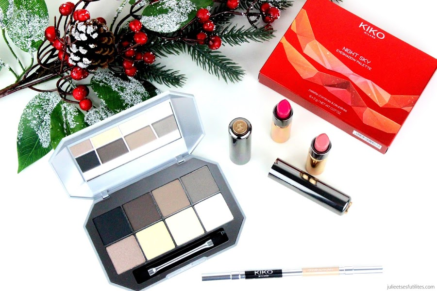 Collection de Noël 2015 | Cosmic Starlets de Kiko - julieetsesfutilites.com
