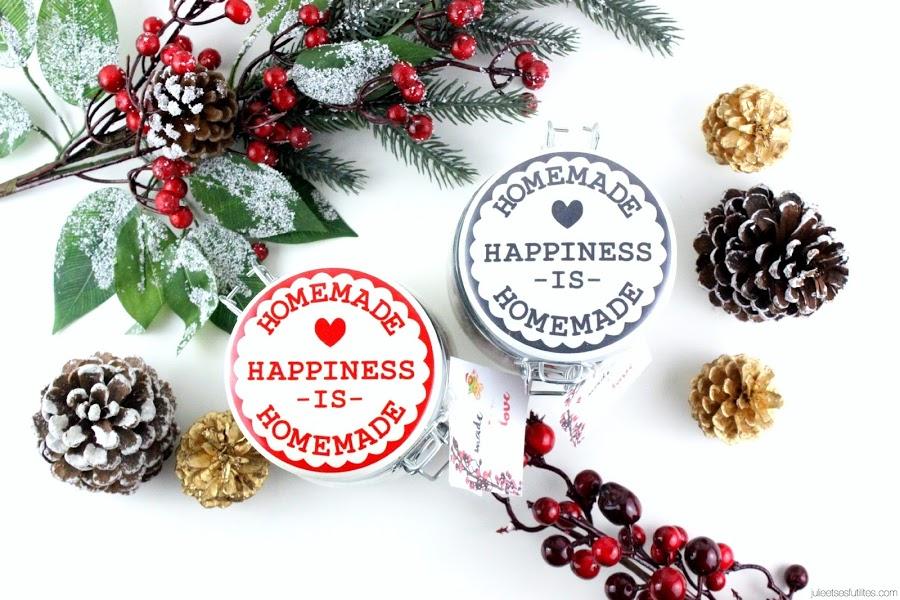 DIY spécial Noël | Made with love, des pots à dévorer avec amour ! - julieetsesfutilites.com