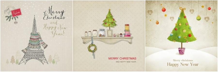 Printables de Noël | Des étiquettes et des cartes de voeux à télécharger ! julieetsesfutilites.com