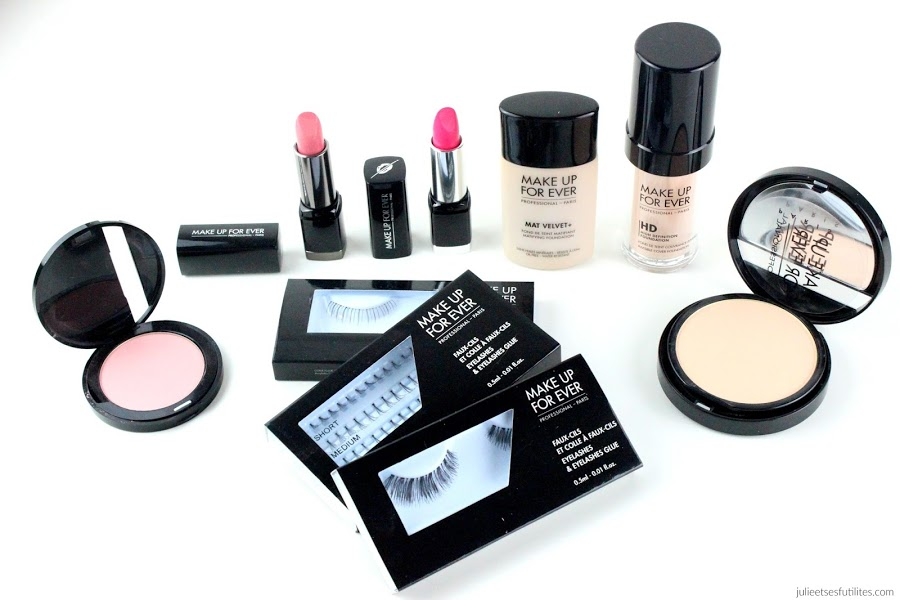 New in #11 | Haul Vente Privée Make Up For Ever ! julieetsesfutilites.com