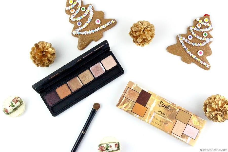 1 palette 2 makeup #3 | Spécial Réveillon avec la palette ilust de Sleek ! julieetsesfutilites.com