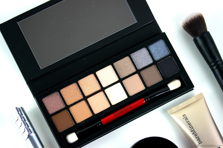 Makeup Golden Eyes | Palette Full Exposure de Smashbox ! julieetsesfutilites.com