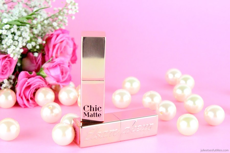 Avis sur les rouges à lèvres Chic Matte nouvelle version d'Elsamakeup - julieetsesfutilites.com