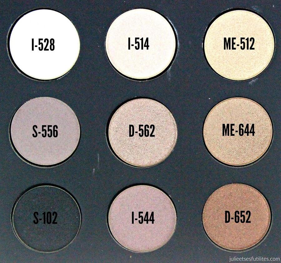 La palette Artist Nude de Make Up For Ever ! julieetsesfutilites.com