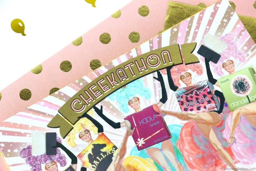 La palette Cheekathon de Benefit ! julieetsesfutilites.com