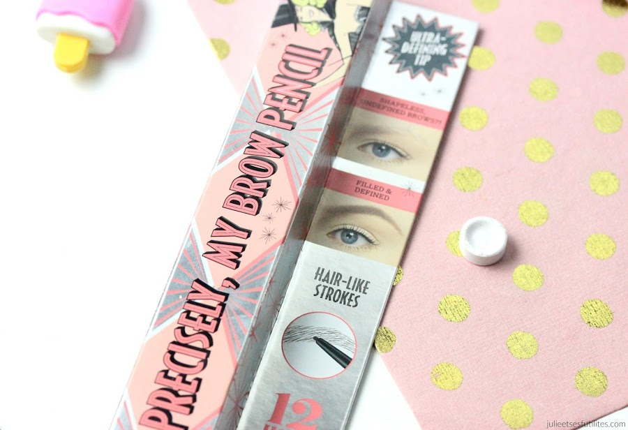 Crayon pour sourcils Precisely my brow pencil de Benefit ! julieetsesfutilites.com