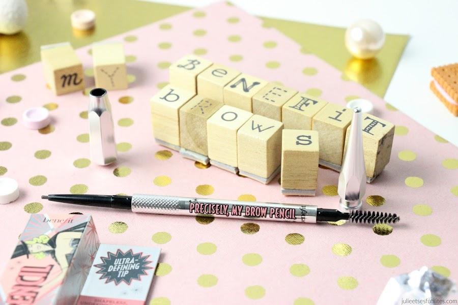 Crayon pour sourcils Precisely my brow pencil de Benefit ! julieetsesfutilites.com