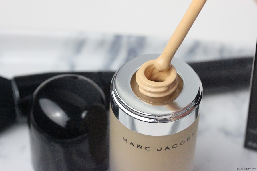 Le fond de teint Re(marc)able de Marc Jacobs en teinte Bisque light- avis - julieetsesfutilites.com
