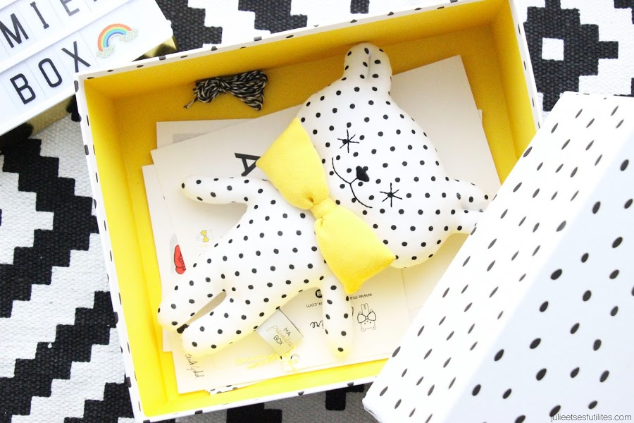 "Avis ""Ma première box"" ! julieetsesfutilites.com"