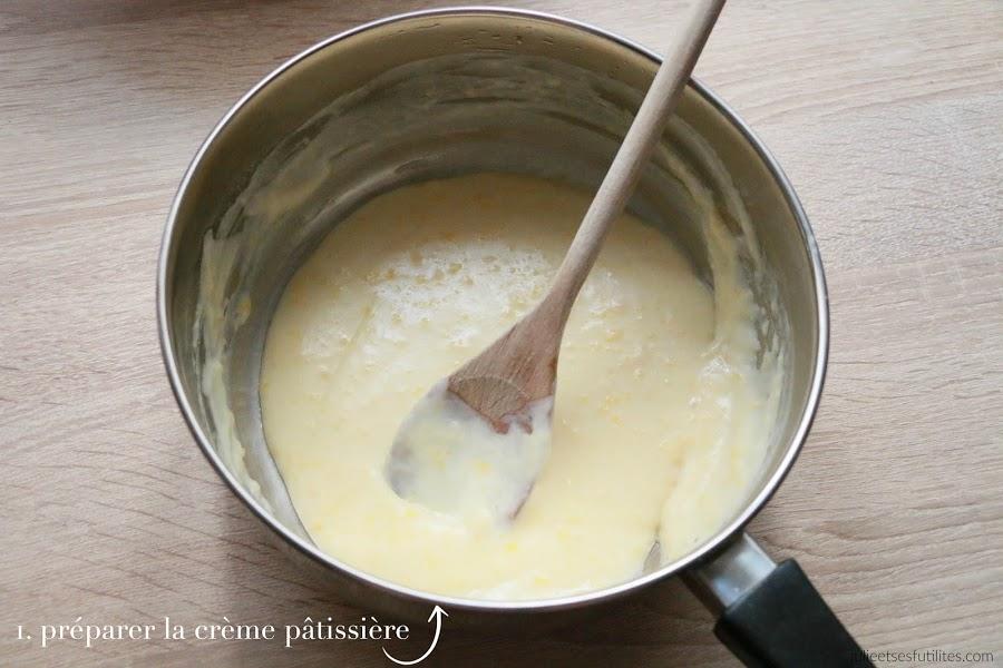 réaliser une crème pâtissière en 5 minutes