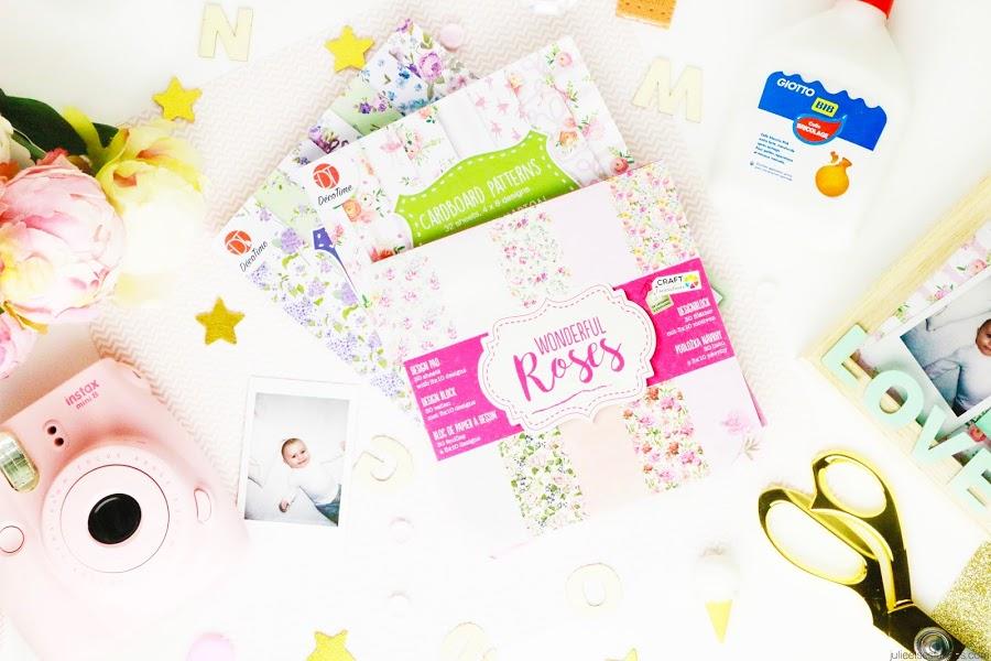 DIY 3 idées cadeaux faits maison pour la fête des grands-mères cadre photo polaroïd