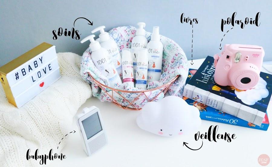 sommeil toilette langes Aden + Anais veilleuse nuage maternité Disney 1001 vies soins bio polaroid Instax Mini 8