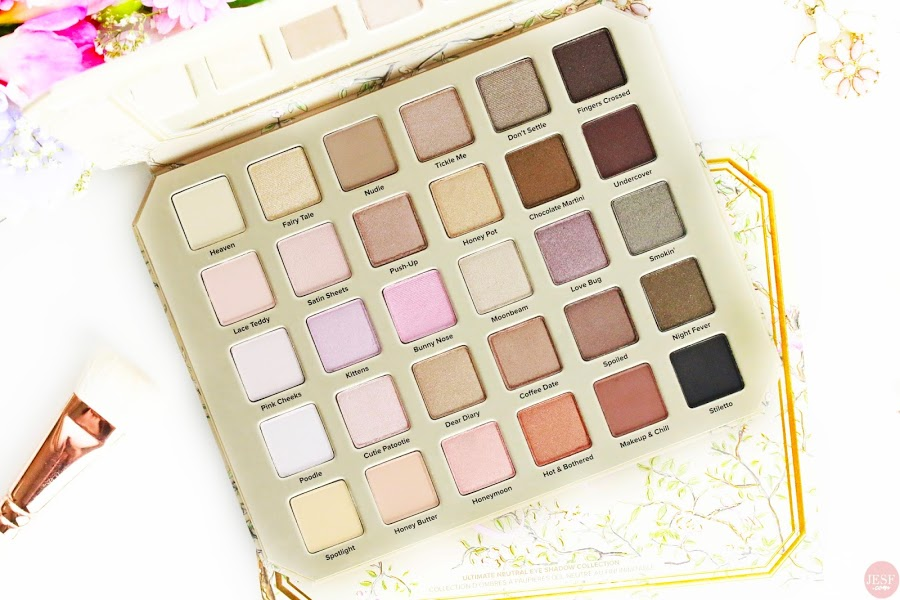 avis revue nouvelle palette Natural Love de Too Faced