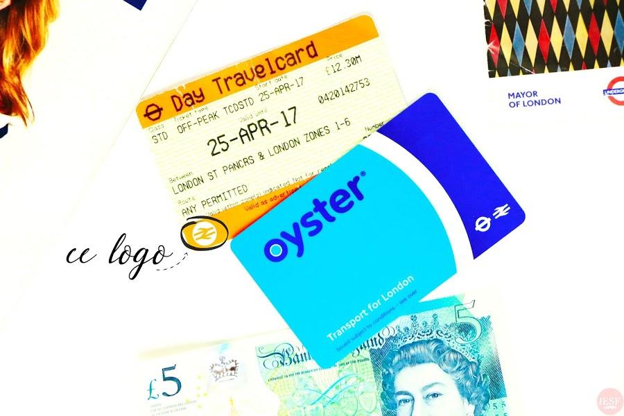 transport en commun oyster travelvard métro