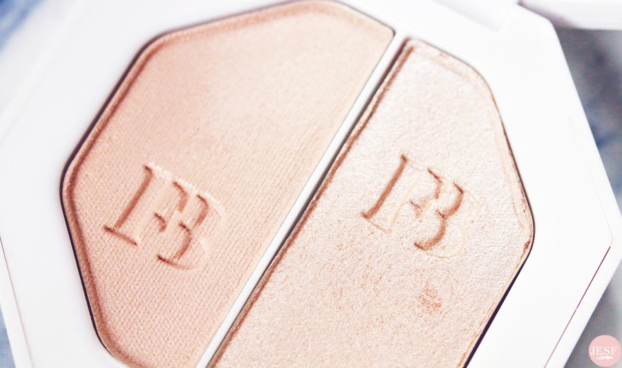 L'enlumineur Killawatt Freestyle Highlighter de Fenty Beauty Lightning Dust Fire Crystal avis julieetsesfutilites.com