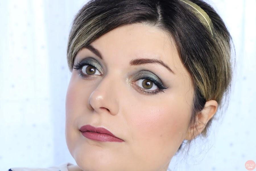Un makeup glamour pour le Nouvel An ! julieetsesfutilites.com