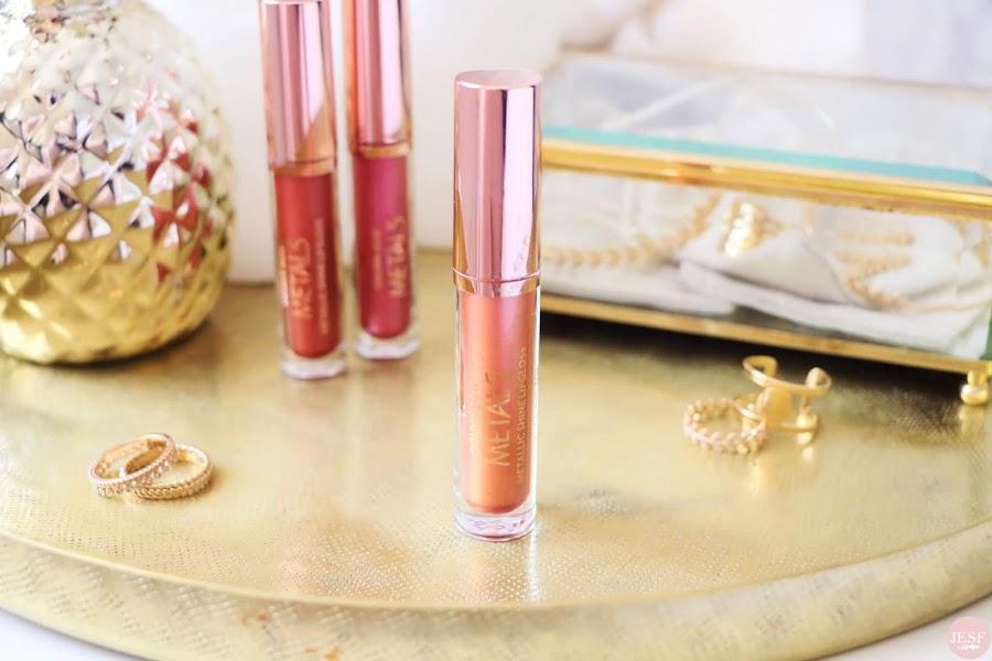 avis-rouge-a-lèvres-metals-metallic-lipgloss-golden-rose-cookies-makeup-pink-nude